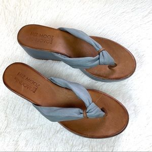 Miz Mooz Women's Wedges Heels Size 40 Sandel